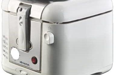 Ariete 4612 Easy Fry Metal – Friggitrice a olio, Spia temperatura, Timer,…