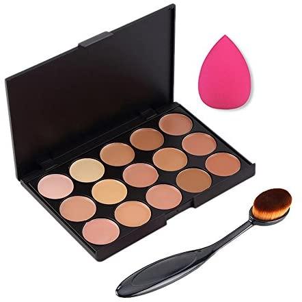 Boolavard 3pcs / set Professionale 15 colori Concealer Makeup Cream Primer...