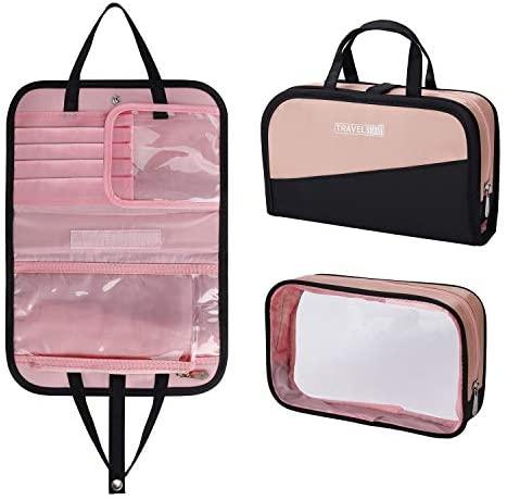 Borsa Cosmetica da Viaggio, Beauty Case Impermeabile Trasparente Trousse da...