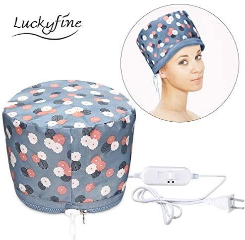 Cura dei capelli, trattamento per capelli caldo Luckyfine vapore portatile...