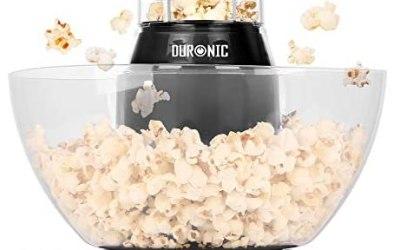 Duronic POP50 Macchina per Popcorn ad aria calda – Capacità di 50 g con…