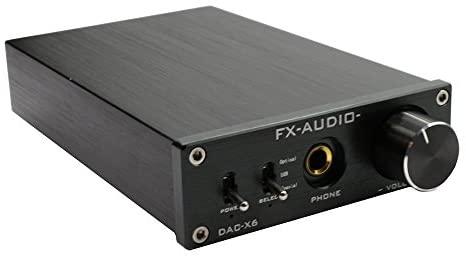 FX Audio DAC-X6 HiFi Optical/Coaxial/USB Digital Audio Amplifier DAC...