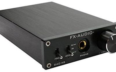 FX Audio DAC-X6 HiFi Optical/Coaxial/USB Digital Audio Amplifier DAC…