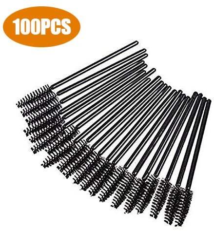 G2PLUS, 100 pennelli da ciglia per mascara, strumenti usa e getta per...