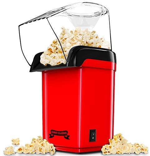 Gadgy ® Macchina per popcorn ad Aria Calda Veloce l Sano, senza olio e...