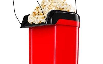 Gadgy ® Macchina per popcorn ad Aria Calda Veloce l Sano, senza olio e…