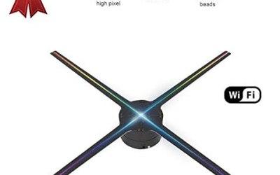 Hakeeta Proiettore olografico 3D, 4 Pagine rotanti 768 Lampada Perline…