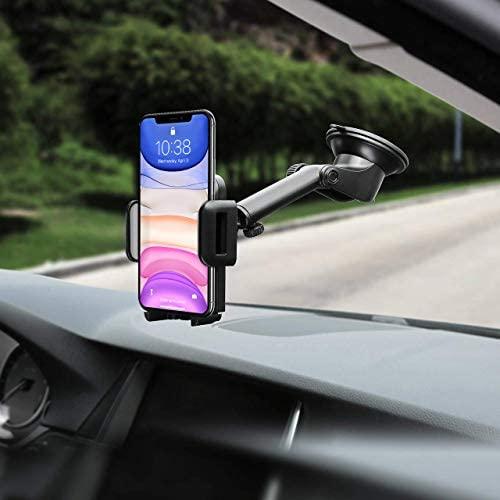 Mpow【Versione AGGIORNATA Supporto Smartphone per Auto Culla Regolabile per...