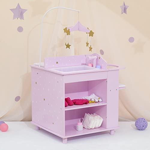 Olivia's Little World- vivaio di Bambole, Colore Viola, Oro, TD-0203AP