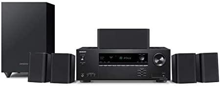 Onkyo HT-S3910(B) 5.1 sistema home cinema con ricevitore AV e altoparlante...