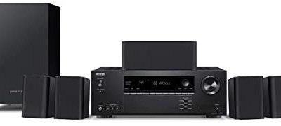 Onkyo HT-S3910(B) 5.1 sistema home cinema con ricevitore AV e altoparlante…