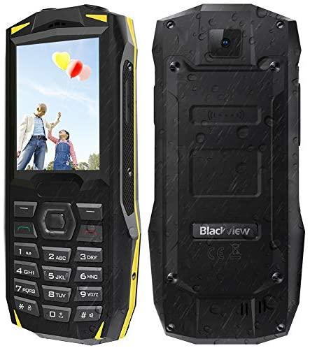 Telefono Cellulare per Anziani 2.4'',con Tasti Funzione SOS, Blackview...