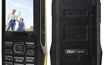 """Telefono Cellulare per Anziani 2.4"""",con Tasti Funzione SOS, Blackview…"""