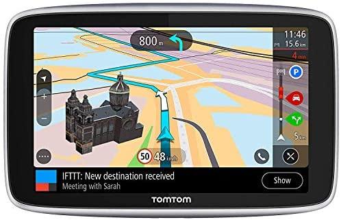 TomTom GO Navigatore Premium GPS 6 Pollici, Aggiornamenti Tramite Wi-Fi,...