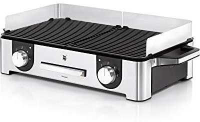 WMF Lono Master di Grill, 2400 W, 2 piastre regolabili separatamente…