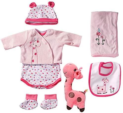 Yesteria Vestiti Bambole per Bambole Reborn da 50-55 cm Giraffa Rosa