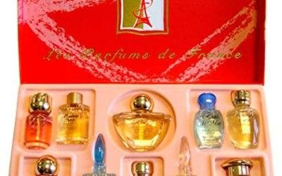 Charrier Profumi lusso top ten Set di 10acqua di profumi Miniature totale…