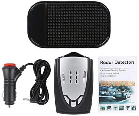 Comaie LED Auto Radar Speed 360° Automotive Tester Detector 16Band...