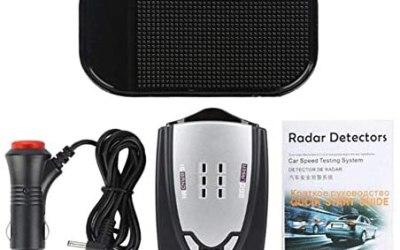 Comaie LED Auto Radar Speed 360° Automotive Tester Detector 16Band…
