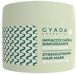 Gyada Cosmetics IMPACCO CAPELLI RINFORZANTE CON SPIRULINA ● CERTIFICATO BIO...