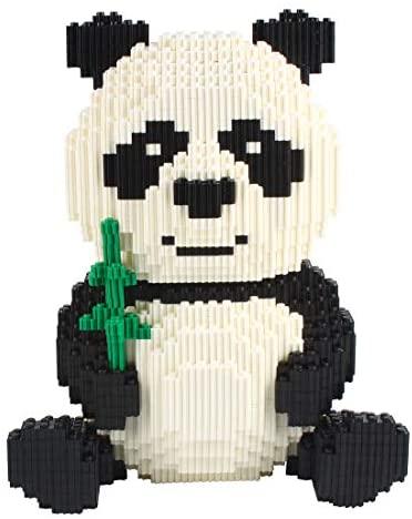Larcele 3689 Pezzi Panda Costruzioni Bozzello Animale Mattoni Giocattolo...