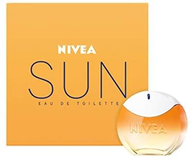 NIVEA SUN Eau de Toilette (1 x 30 ml) con il profumo originale della crema...