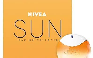 NIVEA SUN Eau de Toilette (1 x 30 ml) con il profumo originale della crema…