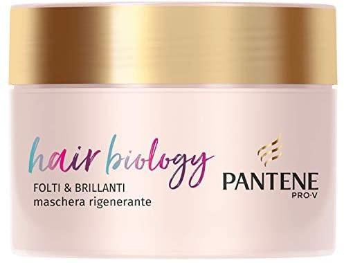 Pantene Pro-V Hair Biology Maschera Folti & Brillanti, 160ml, Per Capelli...