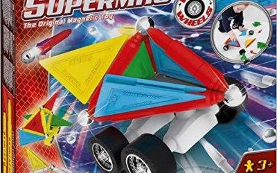 Plastwood- Supermag Tags Wheels 37 Gioco di Costruzioni Magnetico,…