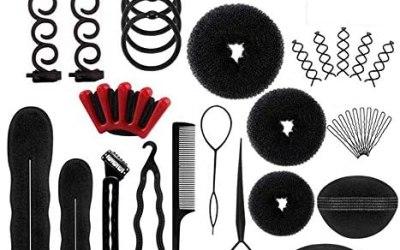 Shirylzee Accessori Per Capelli, 40 pezzi Acconciature Capelli Hair Styling…