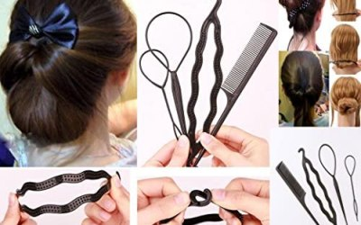 takestop® Set 4 Pezzi Accessori Pettine Clip FERMACAPELLI per Capelli…