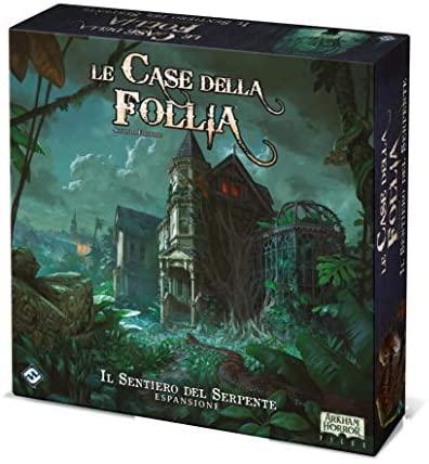 Asmodee Italia-Le Case della Follia-2a Edizione-Il Sentiero del Serpente...
