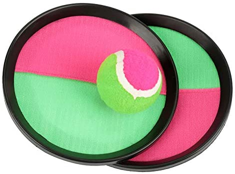 Lanciare e Catturare Set Giochi Self-Stick Handheld Palla Ventosa Stick...