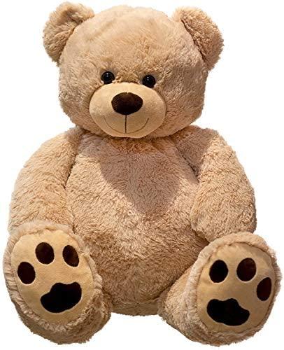 Lifestyle & More Giant Teddy Bear coccolo XXL 100 cm di Altezza Peluche...