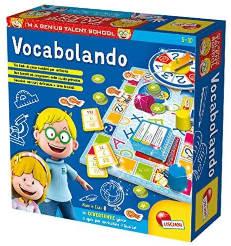 Lisciani Giochi- Vocabolando Piccolo Genio Giochi Educativi, Multicolore,...