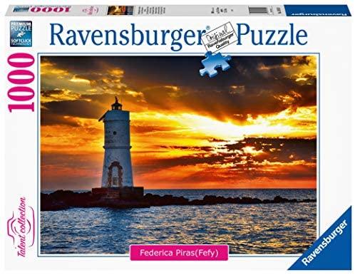 Ravensburger- Faro di Mangiabarche Isola di Sant'Antioco, Sardegna Puzzle...