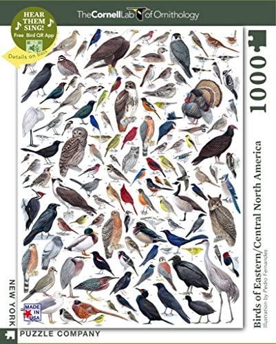 Birds of Eastern/Central North America - NYPC Cornell Lab Collezione Puzzle...