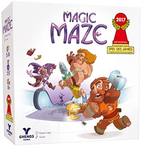 Ghenos Games - GHE069/2 - Magic Maze, Gioco da Tavolo