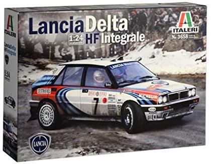 Italeri 3658 Lancia Delta HF Integrale 1990 Rally Monte Carlo auto plastica...