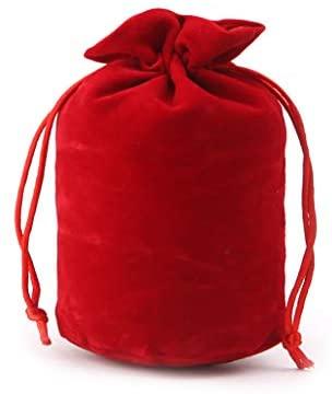Lamdoo Velvet Dice Bag Jewelry Packing Drawstring Bag Gioco da Tavolo -...