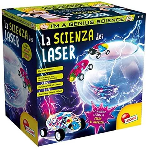 Lisciani Giochi - 77168 Gioco per Bambini I'm a Genius la Scienza dei Laser
