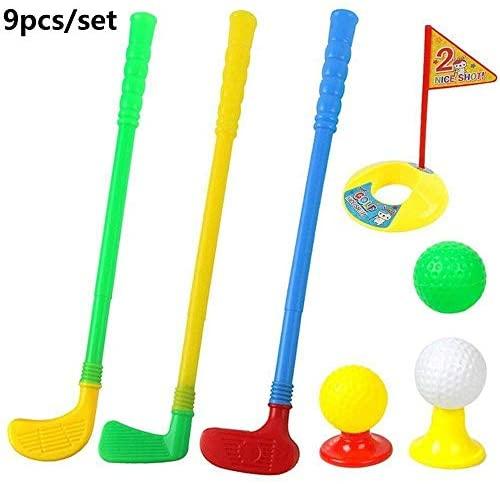 MZY1188 Set da Mini Golf Club per Bambini Set da Mini Golf Putter, Kit da...