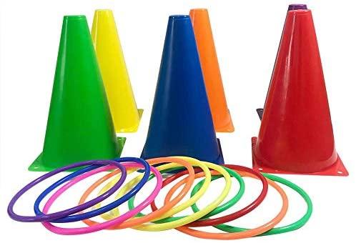 MZY1188 Set di Giochi Ring Toss - Giochi interattivi per Bambini Gioco di...