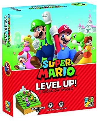 dV Giochi Level Up Il Mondo di Super Mario-Gioco da Tavolo, Multicolore,...