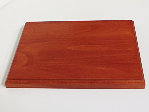 Base in legno per modellismo , diorami e collezionismo cm 18 x 25