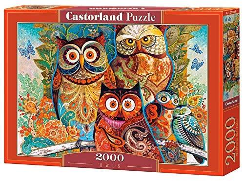 Castorland - Gufi Puzzle 2000 Pezzi