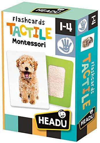 Headu- Flashcards Tactile Montessori, MU23738
