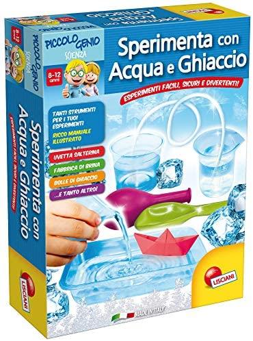 Lisciani Giochi Piccolo Genio Scienza Sperimenta con Acqua e Ghiaccio,...