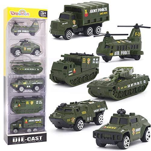 Mini Veicolo Militare Modelli Costruzione Veicoli Giocattolo per Bambini...