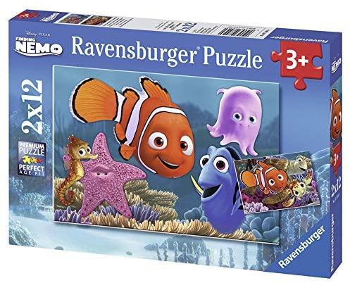 Ravensburger 07556 - Nemo Puzzle, 2x12 Pezzi